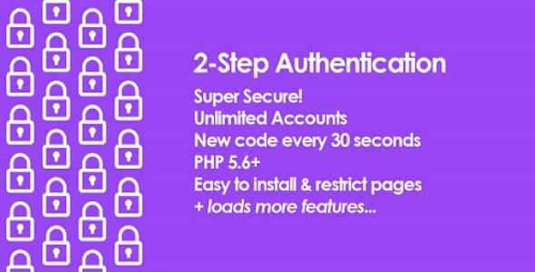 2 Step Authentication PHP Script