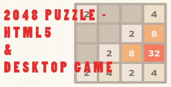 2048 Games | HTML | Javascript Game in games apps | Alkanyx