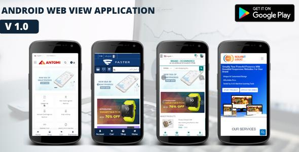 Android Web View Application