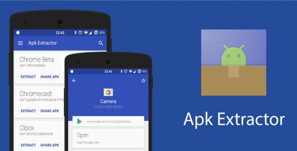 Apk Extractor - Android Application Source Code