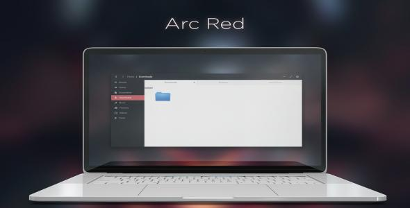Arc Red - HTML Template