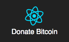 BitCoin Donate - A react bitcoin donate widget.
