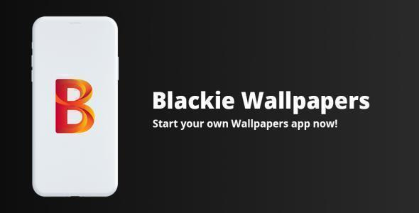 Blackie - React Native Wallpapers App template