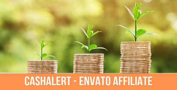 Cash Alert - Impact Radius Affiliate Plugin for Envato Marke