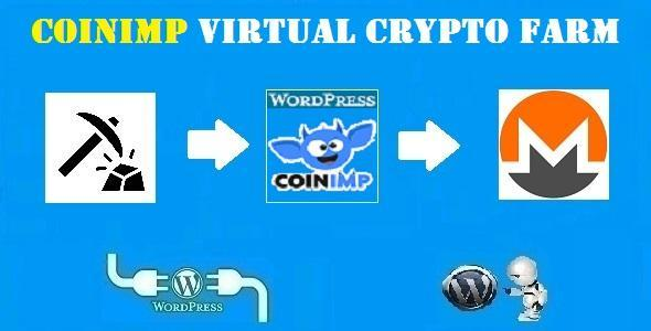 CoinImp Virtual Crypto Farm Plugin for WordPress