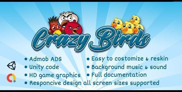Crazy Birds - Adventure Game