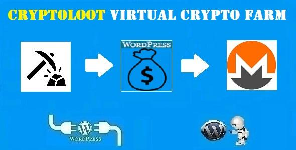 CryptoLoot Virtual Crypto Farm Plugin for WordPress