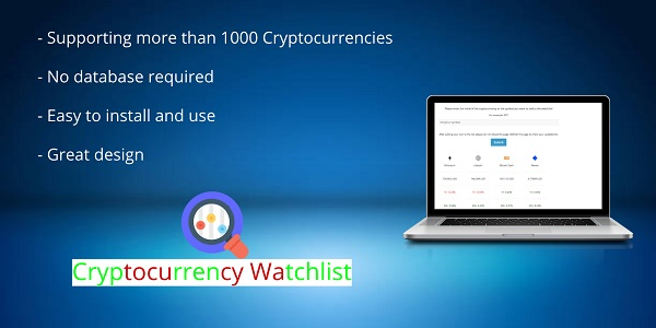 Cryptocurrency Watchlist