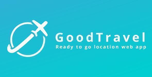 GoodTravel - Travel & Locations PHP Script & Mobile App