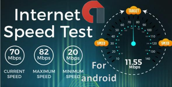 Internet speed tester for android