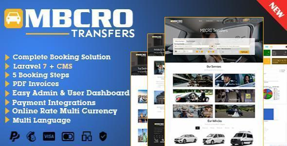 MBCRO Transfers System - Transfer Booking System