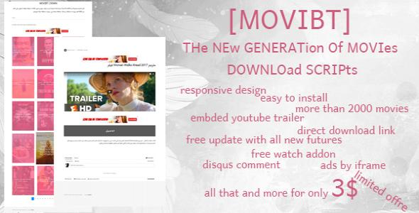 MOVIBT   The FIrst MOvie AUto SCRipt in other apps   Alkanyx