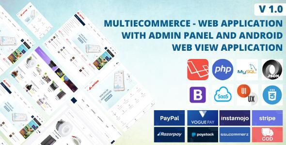 Multi Ecommerce - Web Application And Android Application