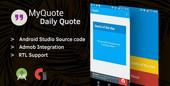 MyQuote - Daily Quote Android App Source Code