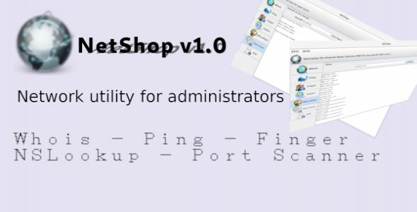NetShop - Network Utility For Administrators