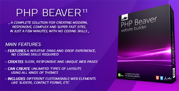 PHP Beaver - Drag and Drop Website Builder