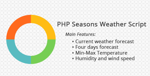 PHP Seasons - PHP and Javascript Weather Script