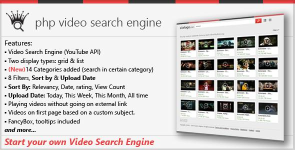 PHP Video Search Engine in lifestyle apps | Alkanyx