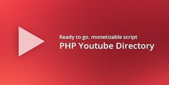 PHP Youtube Directory Script