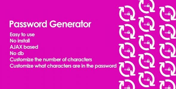 Password Generator PHP Script