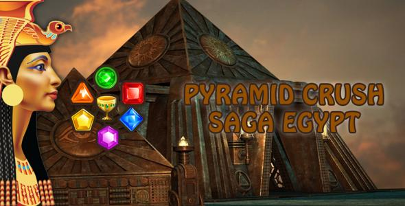 Pyramid Crush Saga Egypt - Android Game Source Code