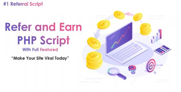 Refer and Earn PHP System