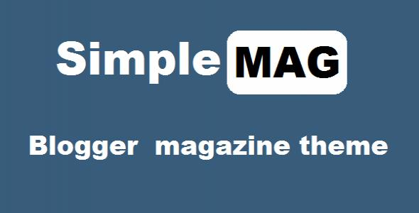 SimpleMag - Blogger Magazine Theme
