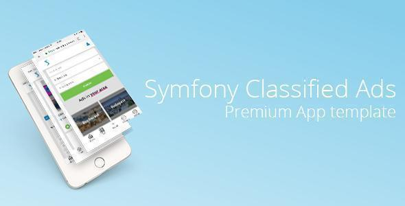 Symfony Classified Ads & Freelancing - Premium app template