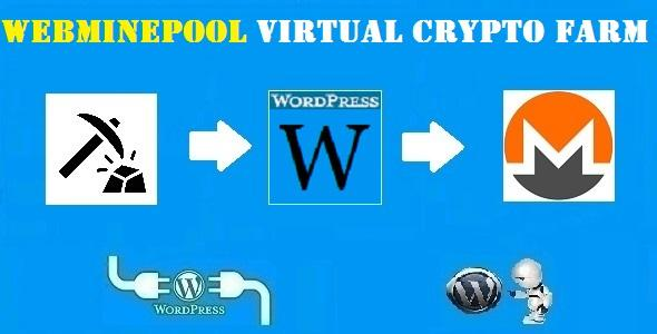 WebMinePool Virtual Crypto Farm Plugin for WordPress