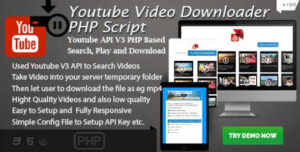 Youtube PHP Downloader Lite