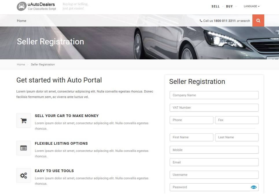 uAutoDealers - car dealerships and auto classified website in e ...